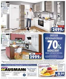 Aktueller Möbel Hausmann Prospekt, Aktuelle Küchenangebote, Seite 8