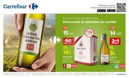 Catalogue Carrefour en cours, Découvrez la sélection du caviste, Page 1