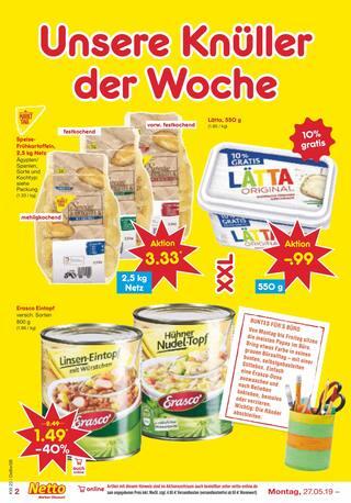 Aktueller Netto Marken-Discount Prospekt, Beste Angebote zum Vatertag, Seite 2