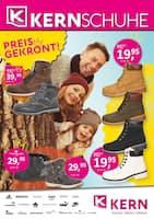 Aktueller KERN Schuhe Prospekt, PREISGEKRÖNT!, Seite 1