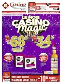 Catalogue Casino Supermarchés en cours, Le mois Casino magic, Page 1