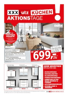 XXXLutz Möbelhäuser - Küchen Aktionstage