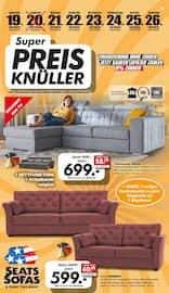 Aktueller Seats and Sofas Prospekt, Super Preis-Knüller, Seite 1