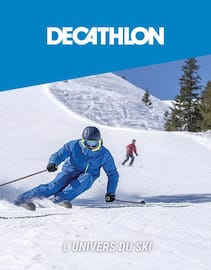 Catalogue Decathlon en cours, L'univers du ski, Page 1
