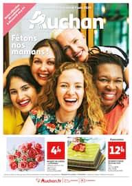 Catalogue Auchan en cours, Fêtons nos mamans !, Page 1