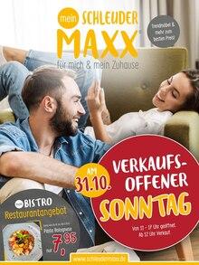 Schleuder-Maxx Sonderposten-Markt Prospekt für Eggenfelden: Aktuelle Angebote, 16 Seiten, 25.10.2021 - 8.11.2021
