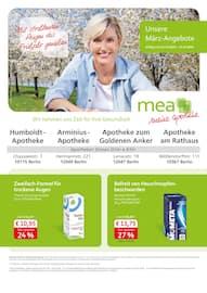 mea - meine apotheke, Unsere März-Angebote  für Berlin
