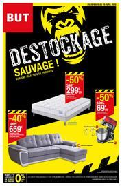 Catalogue But en cours, Déstockage sauvage !, Page 1