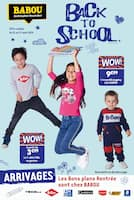 Catalogue Babou en cours, Back to school , Page 1