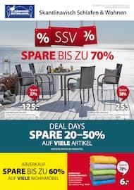 Aktueller Dänisches Bettenlager Prospekt, % SSV %, Seite 1