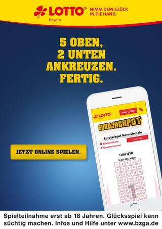 Aktueller LOTTO Bayern Prospekt, Aktueller Jackpot rund 90 Mio. €, Seite 2