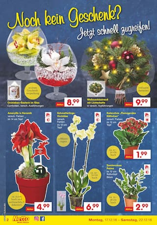 Aktueller Netto Marken-Discount Prospekt, Wir wünschen ein Frohes Fest!, Seite 2