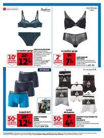Catalogue Auchan en cours, 34% de réduction immédiate sur une sélection de produits., Page 32