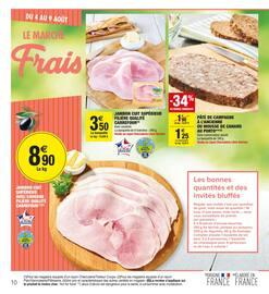 Catalogue Carrefour Market en cours, Vive l'été, produits de saison, Page 10