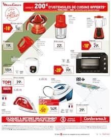 Catalogue Conforama en cours, Des envies plein les prix, Page 19