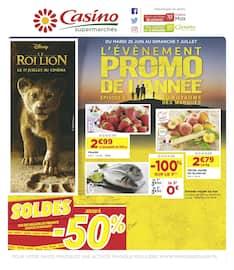 Catalogue Casino Supermarchés en cours, L'évènement promo de l'année - Épisode 4, Page 1