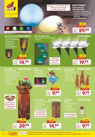 Aktueller Netto Marken-Discount Prospekt, Frühlingshafte Angebote, Seite 32