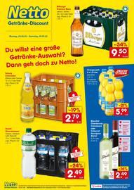 Aktueller Netto Getränke-Markt Prospekt, Du willst eine große Getränke-Auswahl? Dann geh doch zu Netto!, Seite 1