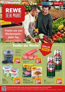 REWE, FRISCH WIE VOM WOCHENMARKT - JEDEN TAG. für Kassel