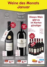 Netto Marken-Discount, Weine des Monats Januar für Mülheim (Ruhr)