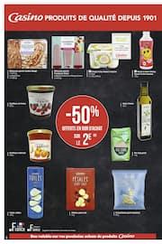 Catalogue Casino Supermarchés en cours, Cahier salon de la marque Casino, Page 4