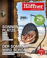 Aktueller Höffner Prospekt, Gartenmöbel 2019, Seite 1