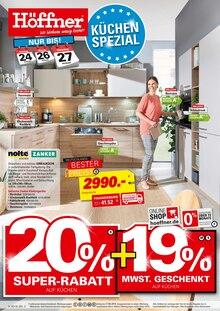 Höffner - Küchen-Spezial
