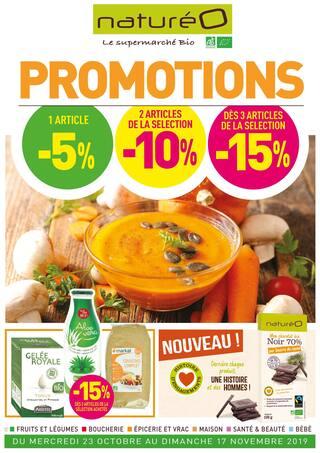 Catalogue NaturéO en cours, Promotions, Page 1