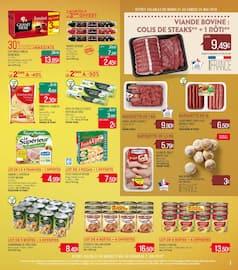 Catalogue Supermarchés Match en cours, Gros volumes = Petits prix, Page 3