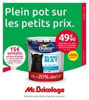Catalogue Mr Bricolage en cours, Plein pot sur les petits prix., Page 1