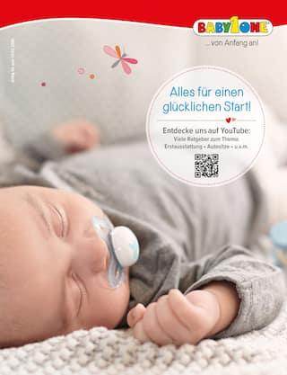 Aktueller BabyOne Prospekt, Alles für einen glücklichen Start!, Seite 1