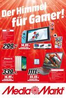 Aktueller Media-Markt Prospekt, Der Himmel für Gamer!, Seite 1