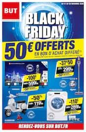 Catalogue But en cours, Black Friday : 50€ offerts en bon d'achat différé, Page 1