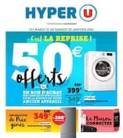 Catalogue Hyper U en cours, C'est la rentrée !, Page 1