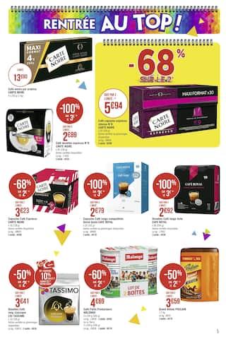 Catalogue Casino Supermarchés en cours, Direction la rentrée… Par ici les promos !, Page 5