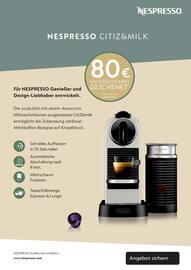 Aktueller Nespresso Prospekt, EINLADUNG zu einem NESPRESSO Kaffee, Seite 9