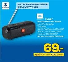 Multimedia von JBL im aktuellen EURONICS Prospekt für 69€