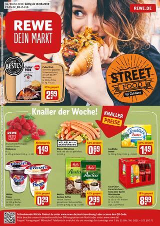 Cola im REWE Prospekt Street Food für Zuhause auf S. 0
