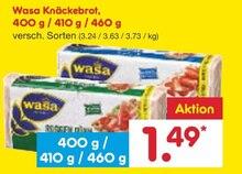 Brot von Wasa im aktuellen Netto Marken-Discount Prospekt für 1.49€