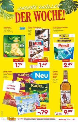 Aktueller Netto Marken-Discount Prospekt, ICH BIN EIN ANGEBOT - HOLT MICH HIER RAUS!, Seite 2