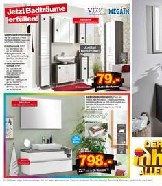 Aktueller Möbel Inhofer Prospekt, BADMÖBEL STUDIO, Seite 2