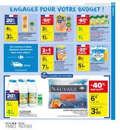 Catalogue Carrefour Market en cours, Résolument engagés pour votre budget, Page 25