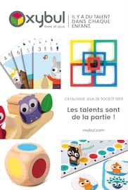 Catalogue Oxybul en cours, Catalogue jeux de société. Les talents sont de la partie !, Page 1