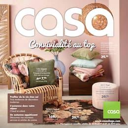 Catalogue Casa en cours, Convivialité au top, Page 1
