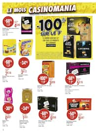 Catalogue Casino Supermarchés en cours, Le mois Casinomania, Page 6