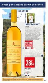 Catalogue Carrefour Market en cours, Apprendre à lire entre les vignes, Page 41