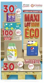 Catalogue Casino Supermarchés en cours, Maxi Lot - Maxi Éco, Page 1