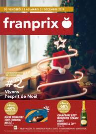 Catalogue Franprix en cours, Vivons l'esprit de Noël, Page 1