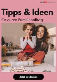Aktueller kaufDA Magazin Prospekt, Tipps & Ideen für euren Familienalltag, Seite 1