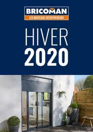 Catalogue Bricoman en cours, Hiver 2020, Page 1